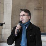 """Pierre Fernandez, AFP. Vernissage de l'exposition """"Les Bleus dans les Yeux des Photojournalistes de l'AFP"""""""