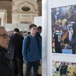 """Vernissage de l'exposition """"Les Bleus dans les Yeux des Photojournalistes de l'AFP"""""""