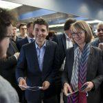 Madame la Ministre de la Culture, Françoise Nyssen aux Assises du Journalisme à Tours